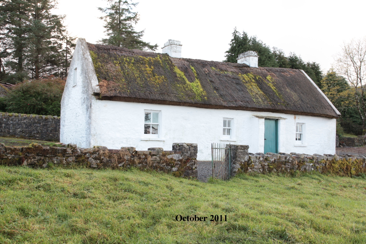 Sean MacDiarmada's House December 2011
