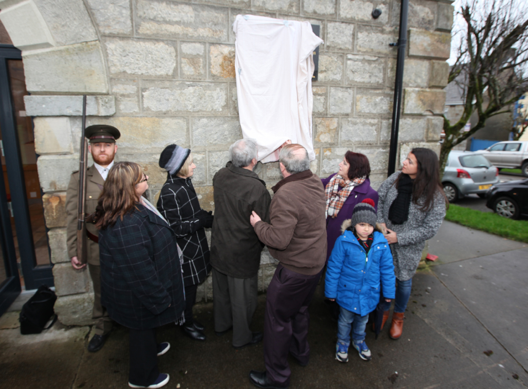 Unveiling of Plaque to Sean MacDiarmada