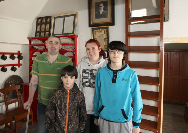Keaney Family from Belcoo