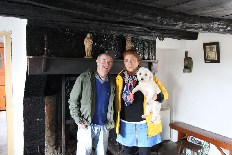 Tony McMorrow and Mary Harkin