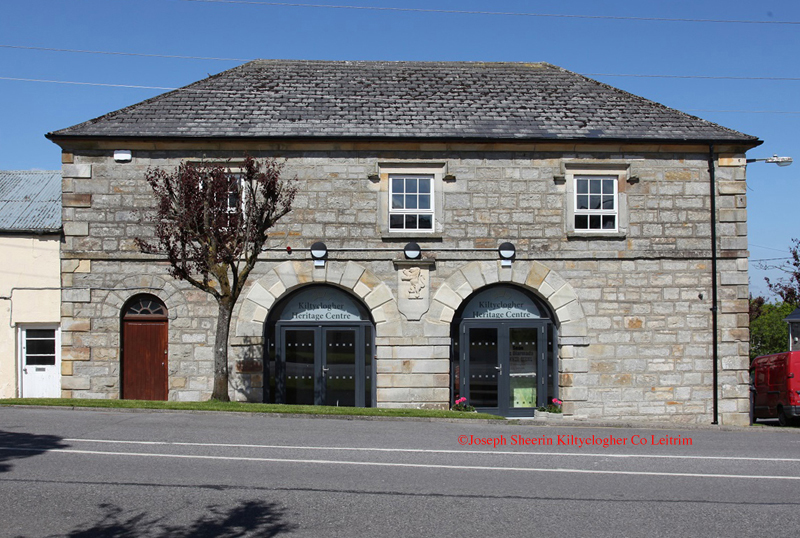 Front of Kiltyclogher Heritage Centre
