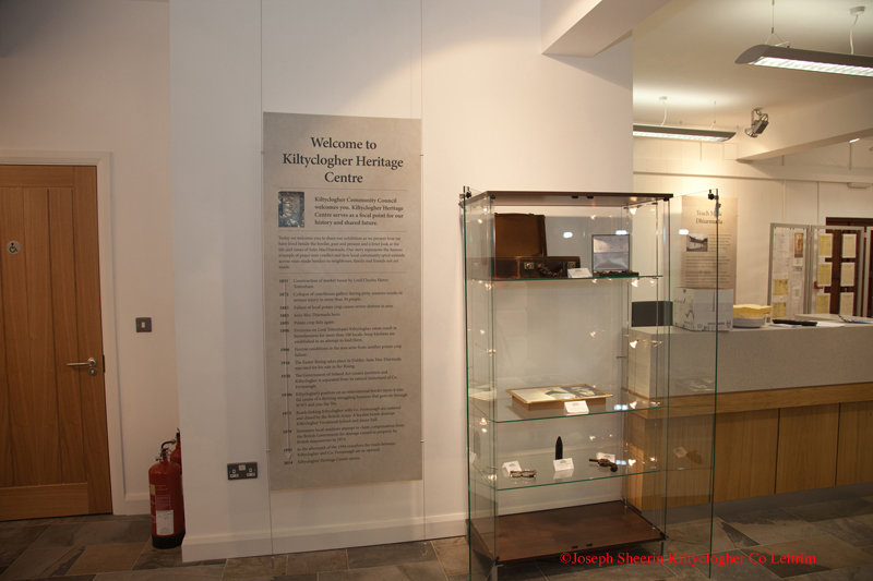 Kiltyclogher Heritage Centre Display©
