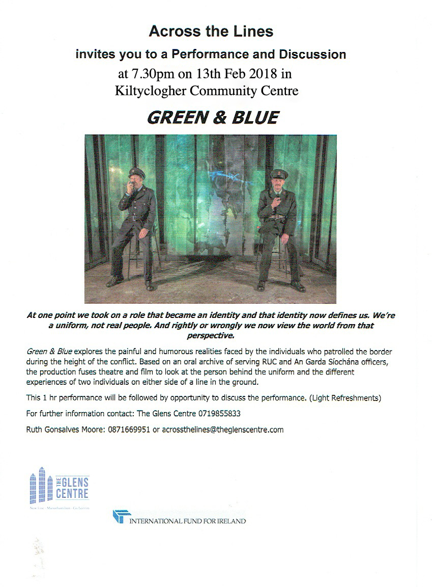 Across the Lines present Green & Blue