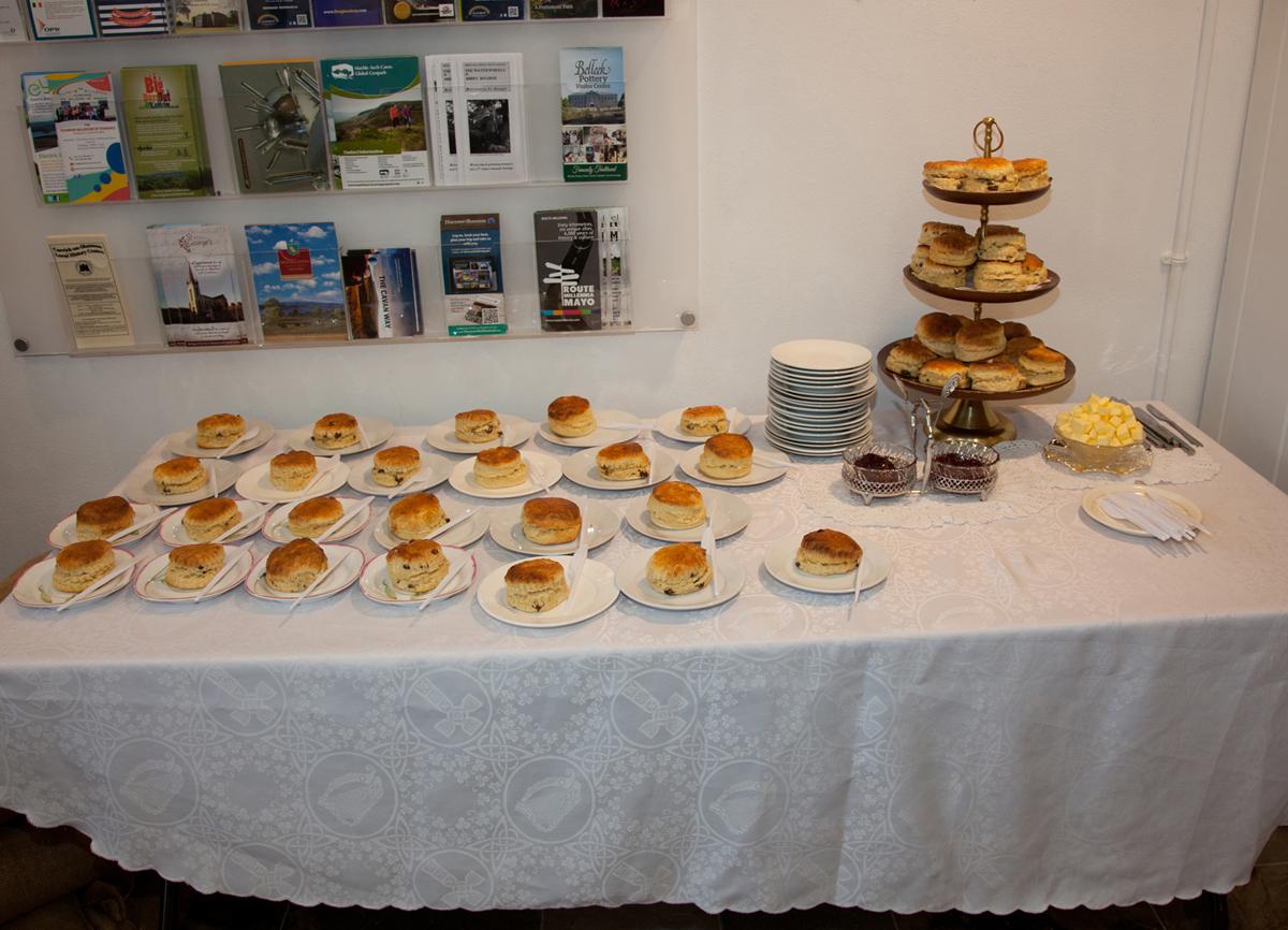 Baking by Miréad Ní Bhroin