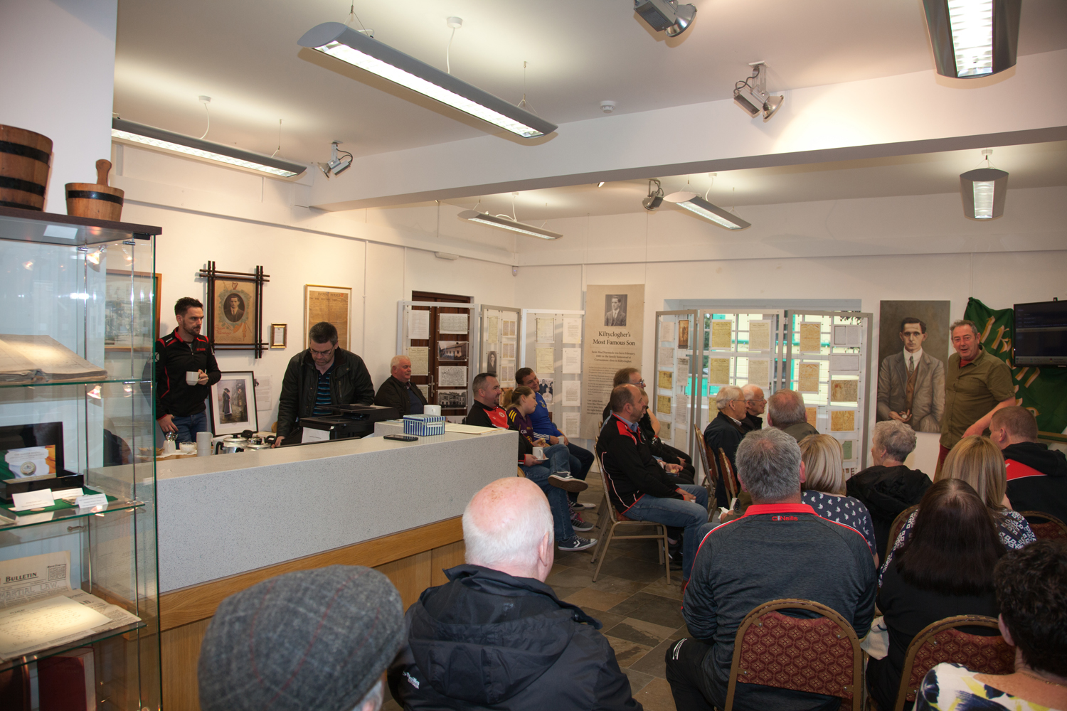Tour from Co Tyrone visiting Centre