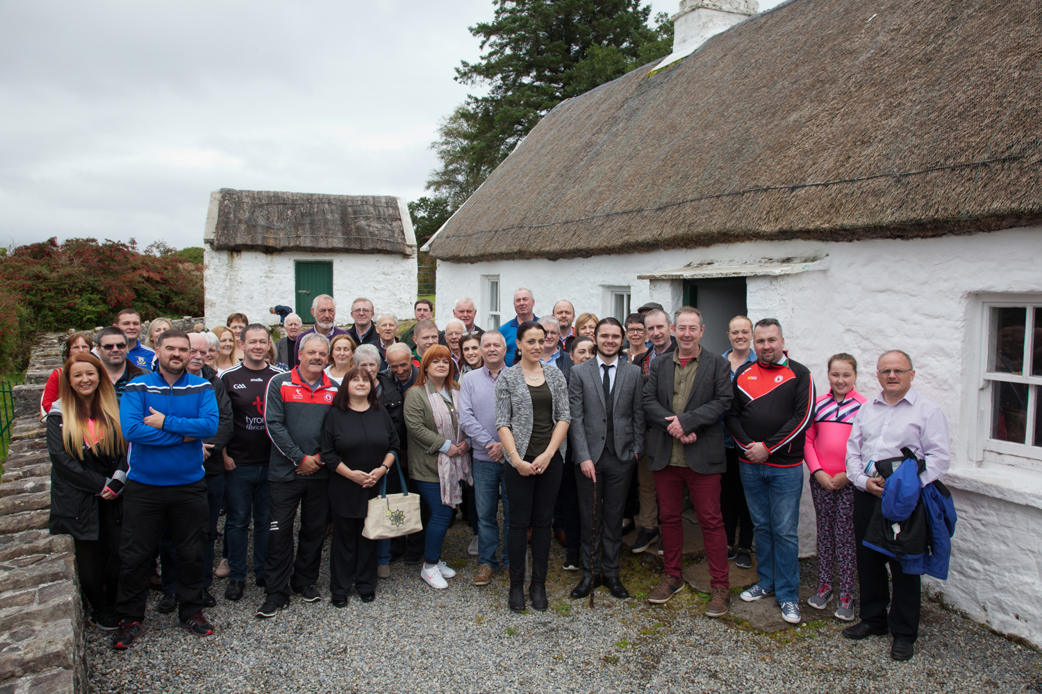 Tyrone tour group